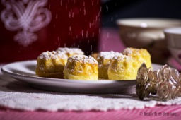 Wintery Mini Ringcakes